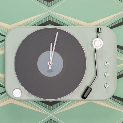 Réveils & Montres - Horloge en forme de Tourne Disque