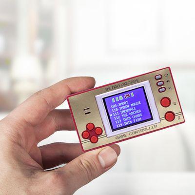 Idées cadeaux pour mettre dans le calendrier de l'avent - Mini Console de jeux Rétro Arcade
