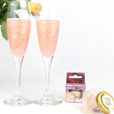 Cadeau anniversaire Femme - Poudre scintillante pour boissons