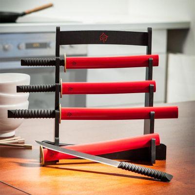 Cadeau couple - Le kit montant couteaux de cuisine Samouraï