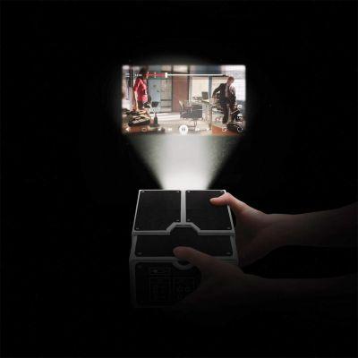 Chargeurs - Projecteur en carton pour Smartphone