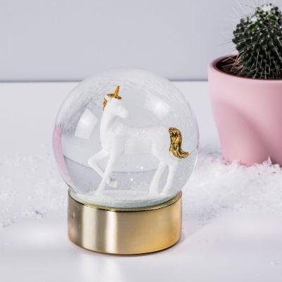 Cadeau Enfant - Boule à neige Licorne