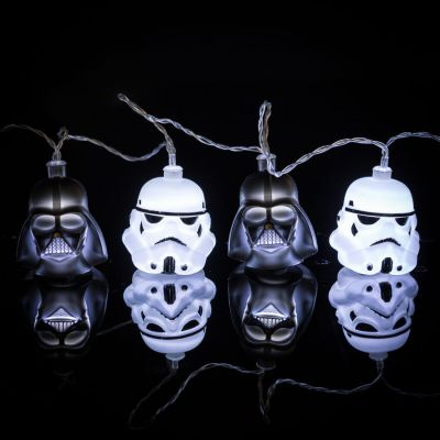 Films & Télévision  - Guirlande Lumineuse Star Wars Dark Vador & Stormtrooper
