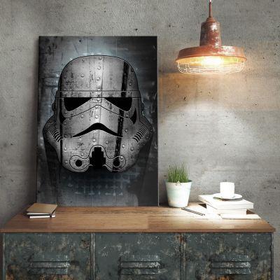 Films & Télévision  - Poster métallique Star Wars – Stormtrooper