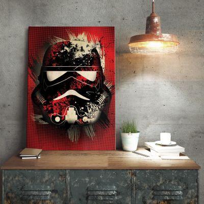 Poster - Poster métallique Star Wars – Stormtrooper Splatter
