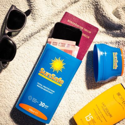 Cadeau anniversaire Femme - SunSafe – Cachette Crème Solaire