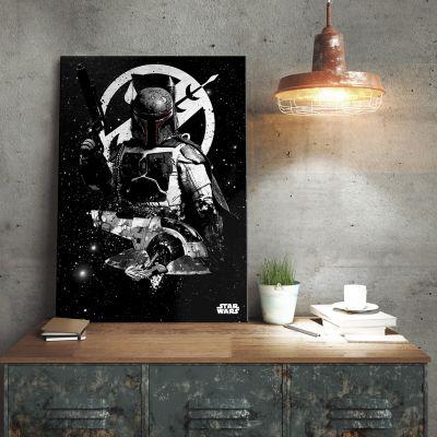 Films & Télévision  - Poster métallique Star Wars – Slave 1 Boba Fett