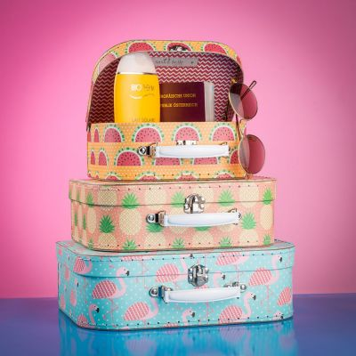 Voyages - Ensemble de Valises Tropicales