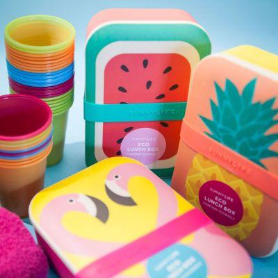 Cadeau Enfant - Lunchbox Eco Sunnylife