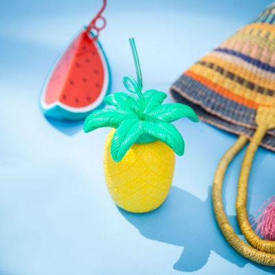 Eau & Plage - Gobelet Fruit tropical avec sa Paille