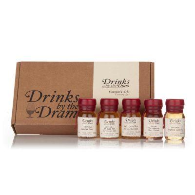 Cadeau 40 ans - Set de Whiskies insolites (5 échantillons)