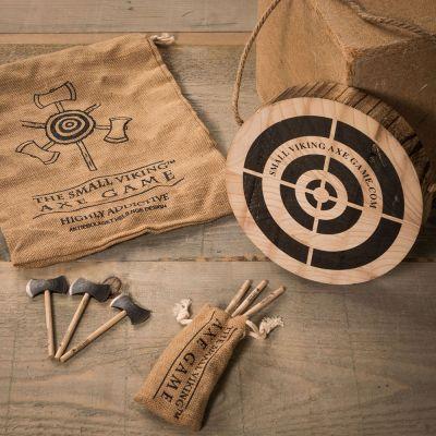 Jeux & Farces - Jeu de Viking – Cible et mini haches