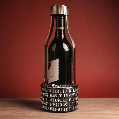 Cadeau pour la Saint Valentin - Vino Vault Cryptex