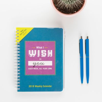 Cadeau 50 ans - Agenda What I Wish For You Each Week