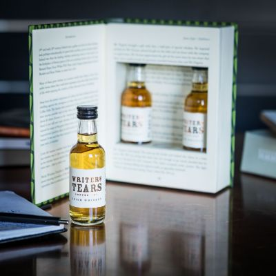 Plaisirs gustatifs - Coffret cadeau Whiskey Irlandais - Writers Tears