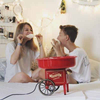 Idée cadeau femme - Machine à barbe à papa
