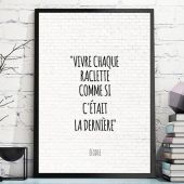 Citations - Poster personnalisable
