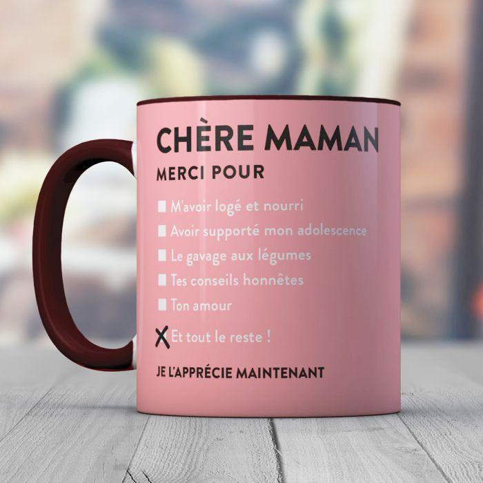 Tasse Chère Maman Cadeauxfoliesch