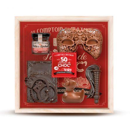 Coffret 50 Saveurs de Chocolat
