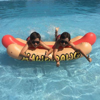 Bouée gonflable Hot-dog
