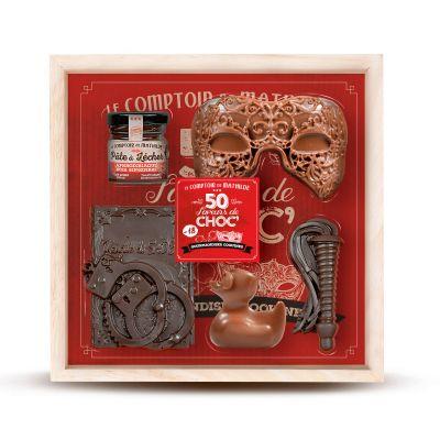 Bonbons - Coffret 50 Saveurs de Chocolat