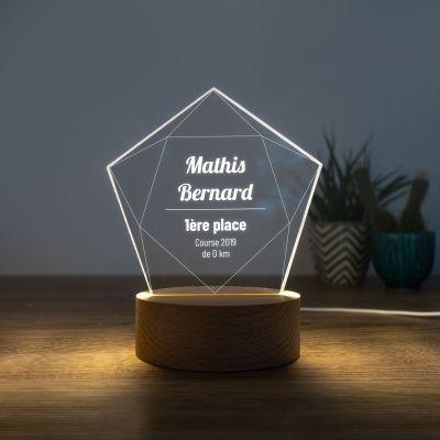 Cadeau prenom - Lampe LED avec Étoile