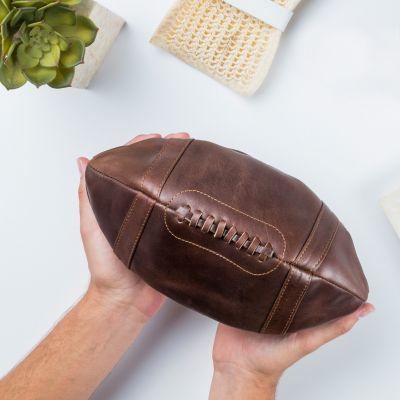 Cadeau Saint Valentin Homme - Trousse en cuir – Ballon de Football Américain