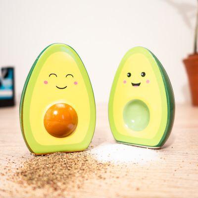 Petits cadeaux pas cher - Salière et poivrière Happy Avocado