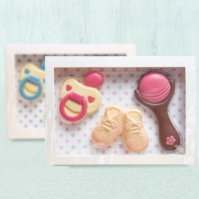 Bonbons - Coffret Bébé en Chocolat
