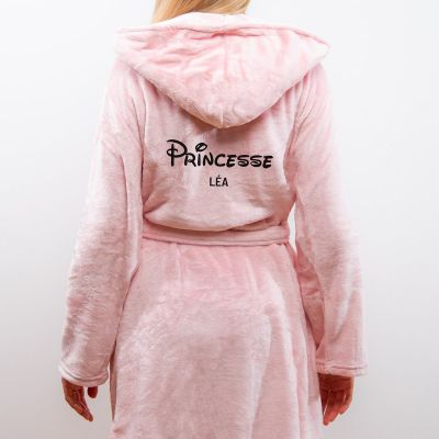 Hiver - Peignoir princesse personnalisable