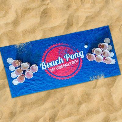 Jeux & Farces - Serviette Beach Pong