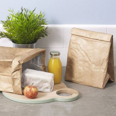 Cuisine & Barbecue - Lunch Bag imitation Papier