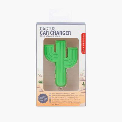 Accessoires smartphone - Chargeur USB pour Allume-cigare Cactus