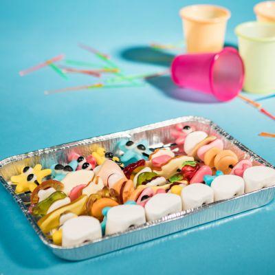 Idées cadeaux pour mettre dans le calendrier de l'avent - Brochettes de Bonbons