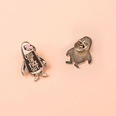Bijoux - Pin's Pingouin Chill Out