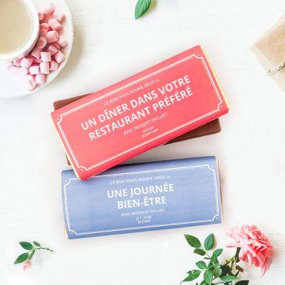 Bonbons - Bon Cadeau Personnalisable - Avec Chocolat