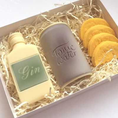Cadeau maman - Gin Tonic en Chocolat