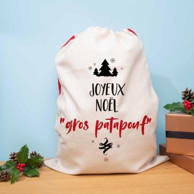 Cadeaux de Noël pour hommes - Hotte de Noël Personnalisable