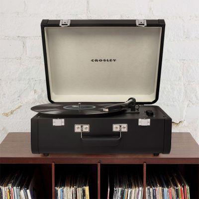 Objets Rétro & Vintage - Platine Vinyle Crosley Portfolio avec Bluetooth & USB