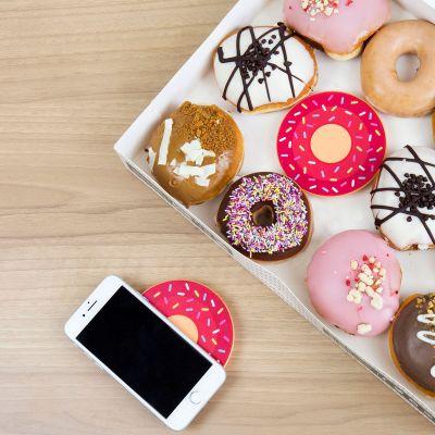 Accessoires smartphone - Chargeur sans fil Donut