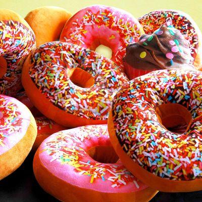 Cadeaux de Noël pour enfants - Coussin Donut