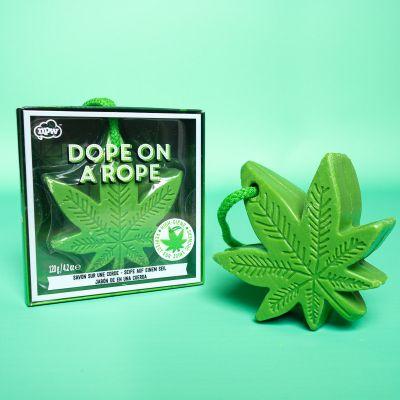 Salle de bains - Savon feuille de cannabis