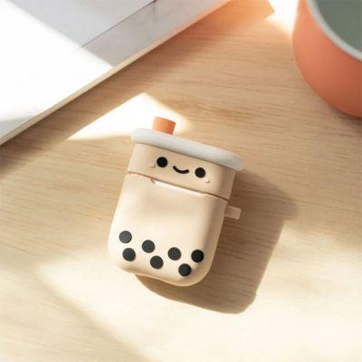 Nouveau - Boîtier de charge d'Airpods Bubble Tea