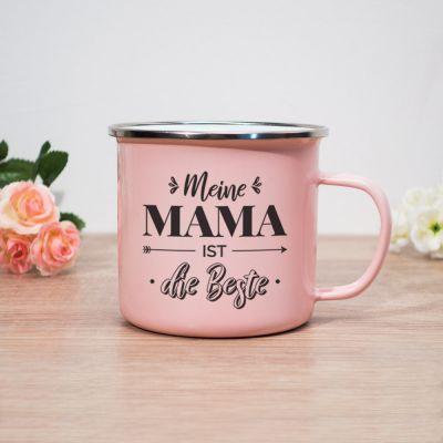 Cadeau fête des mères - Metalltasse Meine Mama Ist Die Beste