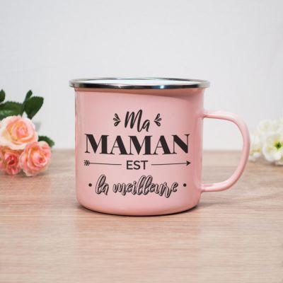 Tasses et Verres exclusifs - Tasse en Métal Ma Maman Est La Meilleure