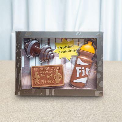 Bonbons - Coffret Fitness en Chocolat