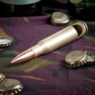 Accessoires de bar - Le décapsuleur cartouche calibre 50