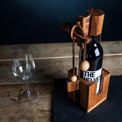 Cadeaux de Noël pour hommes - Puzzle casse-tête bouteille