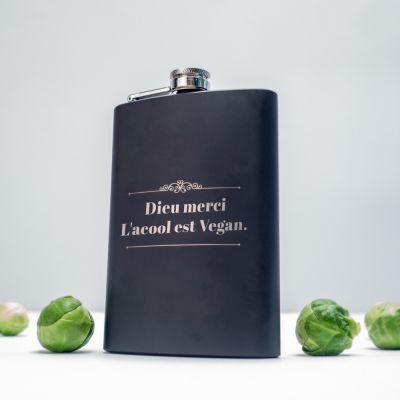 Cadeau Pâques - Flasque personnalisable avec texte