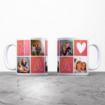 Tasses et Verres personnalisés - Tasse personnalisable maman avec images